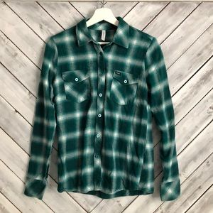RVCA flannel-Teal
